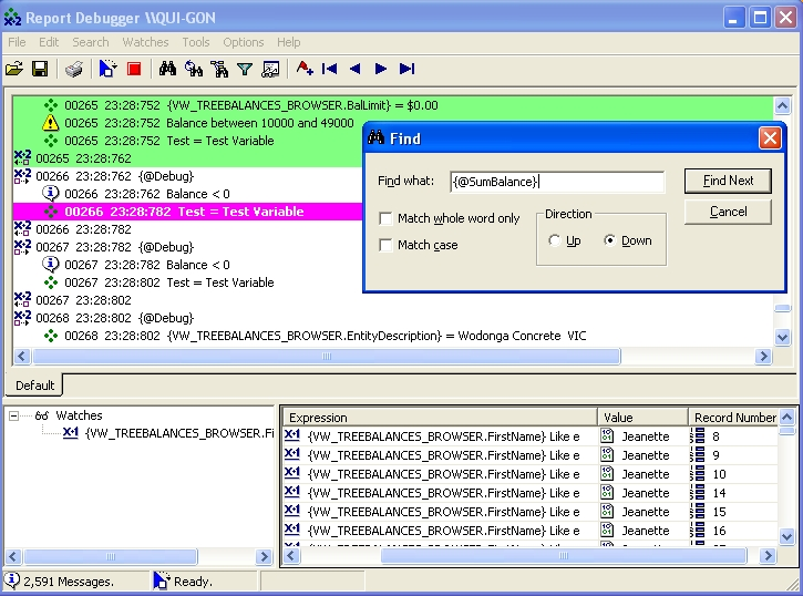 Crystal Reports - ReCrystallize - Report Debugger for Crystal Reports