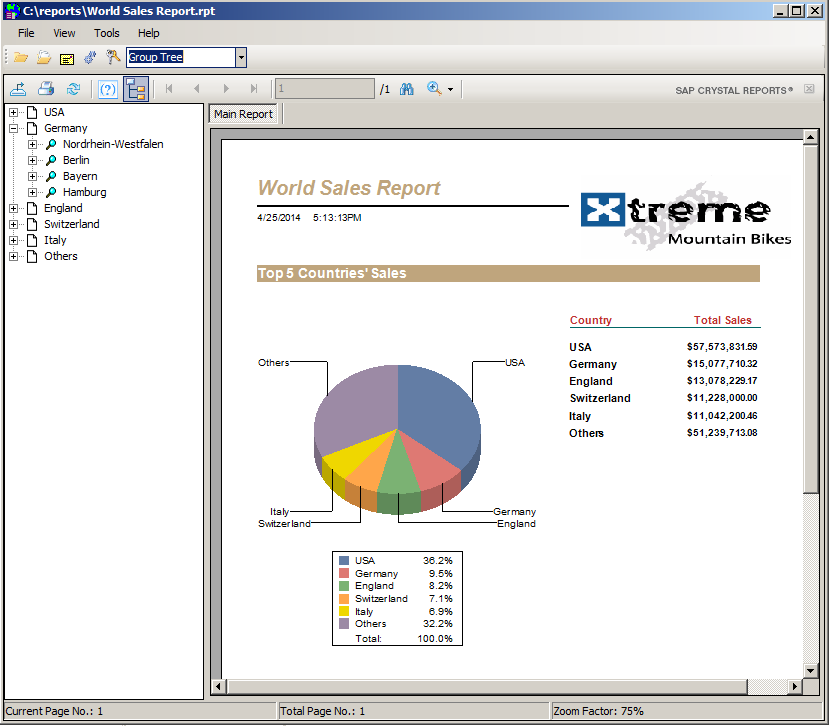 CrystalKiwi Explorer Viewer for Crystal Reports