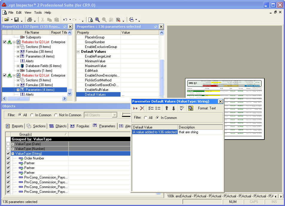 Date serial crystal reports