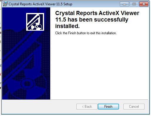 Crystal Reports Activex Viewer Ie9